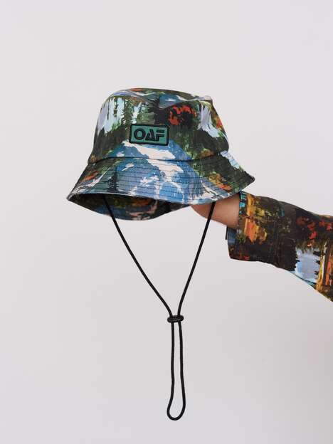 Bold Wildlife-Themed Headwear