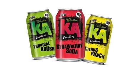 Vibrantly Flavored Sodas Ranges