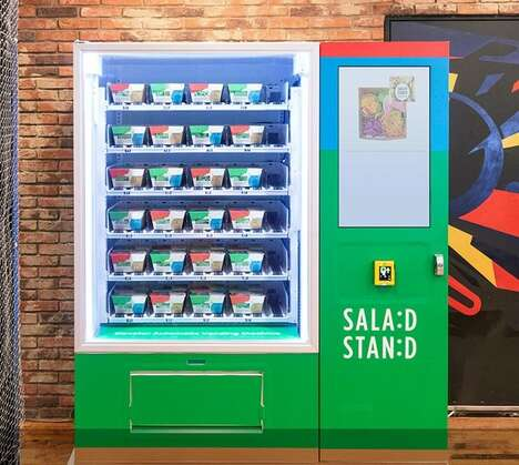 Health-Focused Office Vending Machines