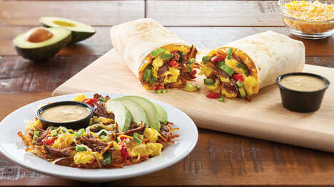 Breakfast Chain Burrito Bowls
