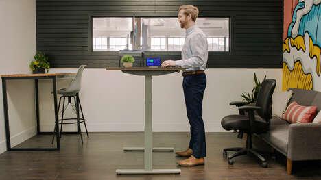 AI Smart Standing Desks