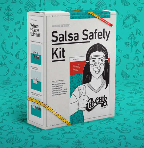 Anti-Double-Dip Salsa Safely Kits