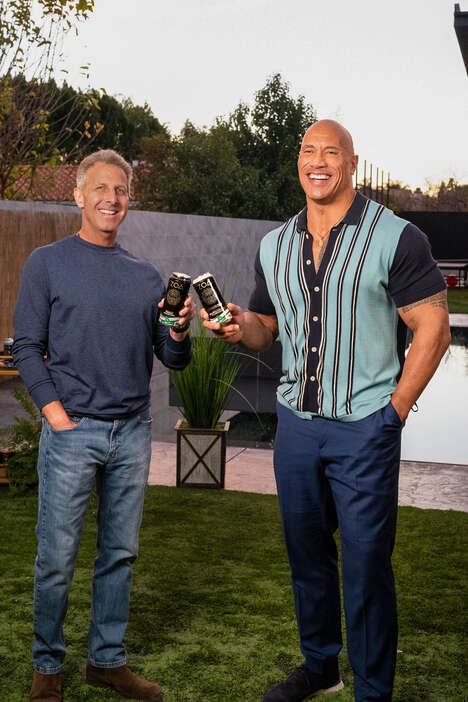 Clean Vitamin-Infused Energy Drinks - Dwayne Johnson and Others Announce the Launch of ZOA Energy