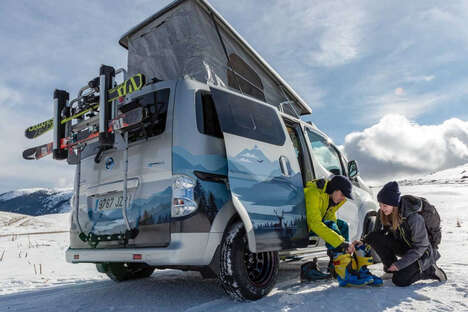 Electric Winter Expedition Campers