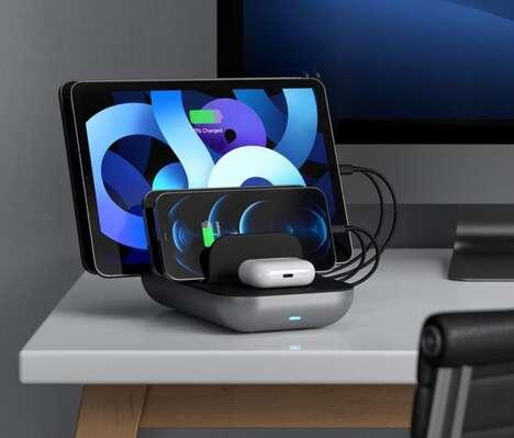 Five-Device Desktop Power Stations