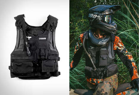 Storage-Packed Motorcycle Vests