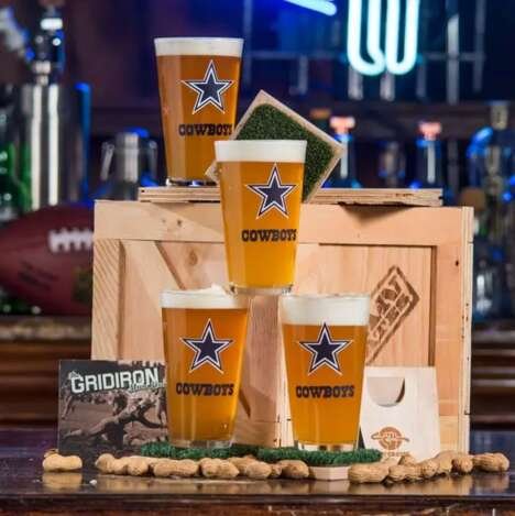 Football-Themed Bar Sets