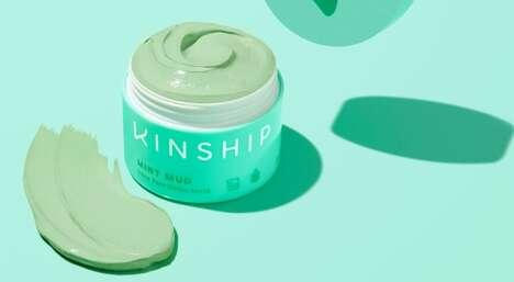 Detoxifying Mint Masks
