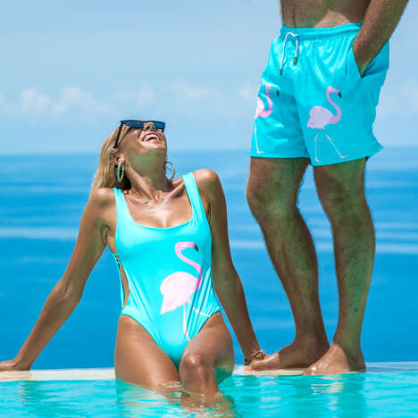 Matching Swimwear Lines