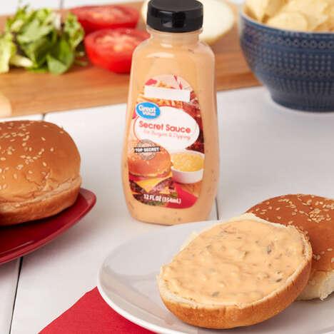 Prepackaged Secret Sauce Condiments