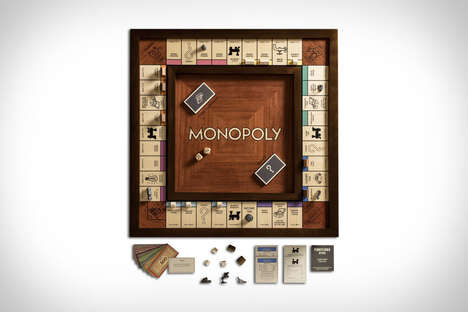 Iconic Wood-Crafted Board Games