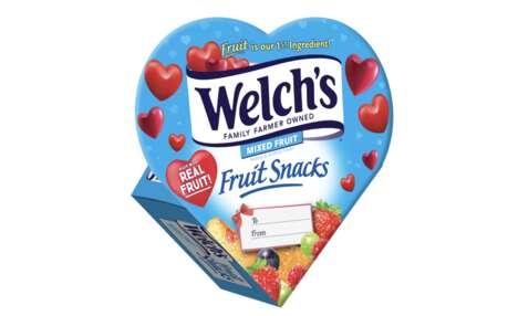 Romantic Branding Fruit Snacks