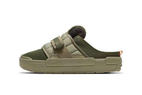Sporty Militaristic Home Sandals
