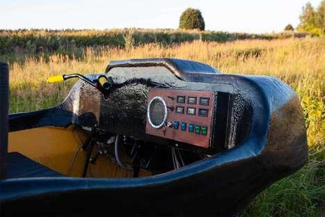 Whisper-Quiet Amphibious ATVs