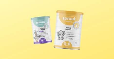 Plant-Based Baby Formulas