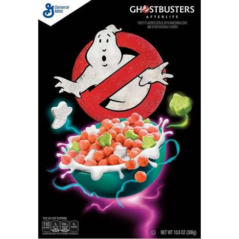 Ghost Hunter-Themed Cereals