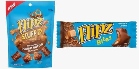 Stuffed Chocolate-Covered Pretzels