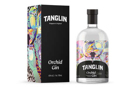 Luxurious Orchid-Inspired Gins
