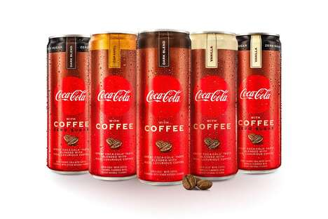 Caffeine-Infused Hybrid Sodas