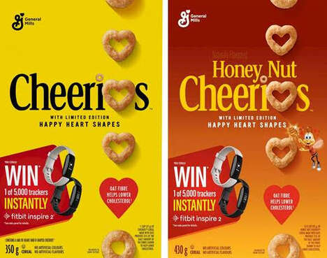 Limited Heart-Shaped Cereals