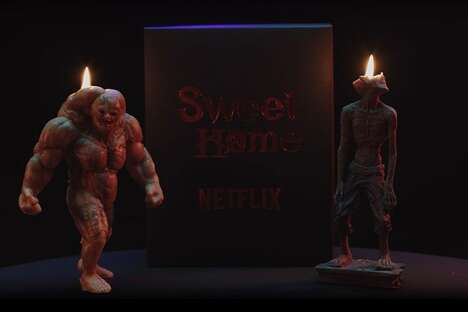 Monstrous Streaming Service Candles