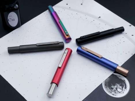 Metallic Minimalism Writing Utensils
