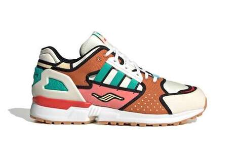 Fictional Burger-Inspired Sneakerse