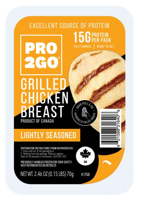 Grilled Chicken Snack Packs