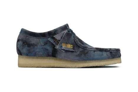 Tonal Camo Moccasin Shoes