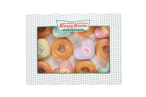 Heart-Shaped Donuts