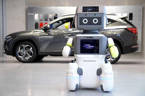 Automotive Showroom Robots