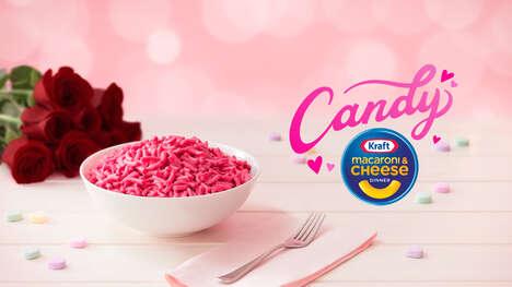 Bright Pink Boxed Macaroni
