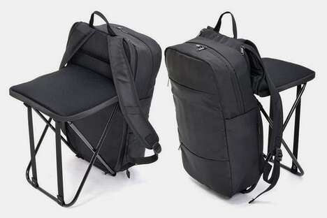 Chair-Equipped Commuter Packs