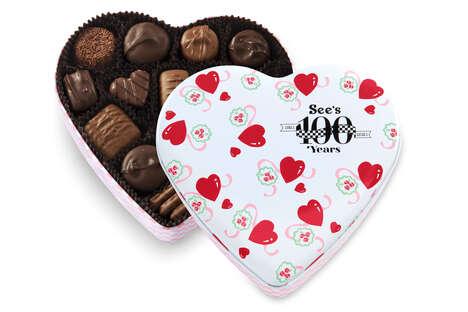 Retro Valentine's Chocolate Boxes