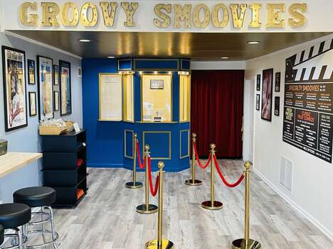 Movie-Themed Smoothie Shops
