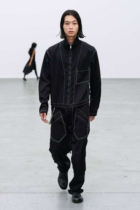 Deconstructed Structural Basic Clothing