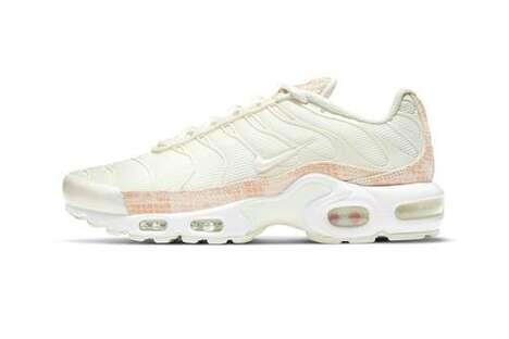 Pink Snakeskin-Detailed Footwear