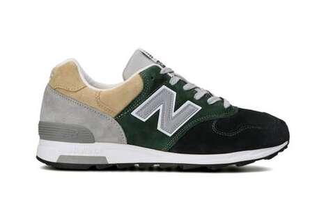 Colorblocking Neutral Tonal Sneakers