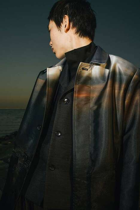 Textile-Centric Elegant Menswear