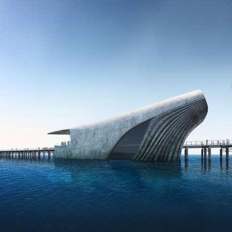 Cetacean-Shaped Buildings