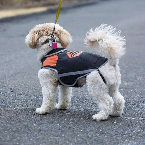 Cold-Clearing Canine Vests
