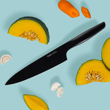 Super-Sharp Monochrome Kitchen Knives