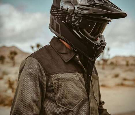 Abrasion-Resistant Motorcyclist Shirts