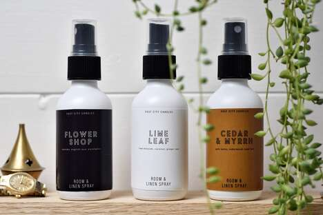 Earthy Room Spray Collections