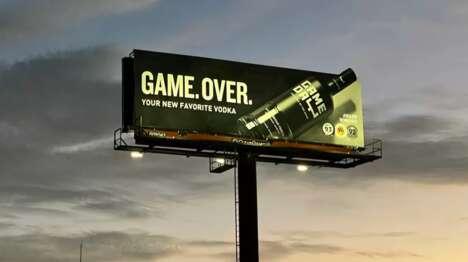 Geofenced Vodka Billboards