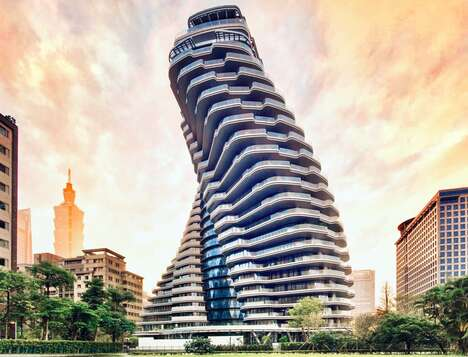 Twisted Taiwanese Towers