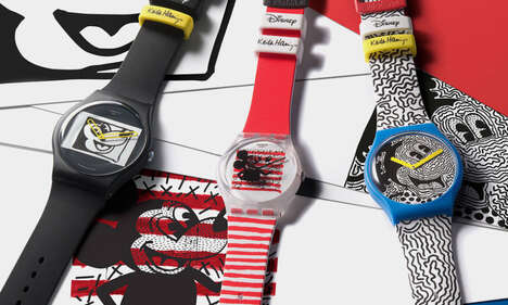 Cartoon-Themed Artistry Timepieces