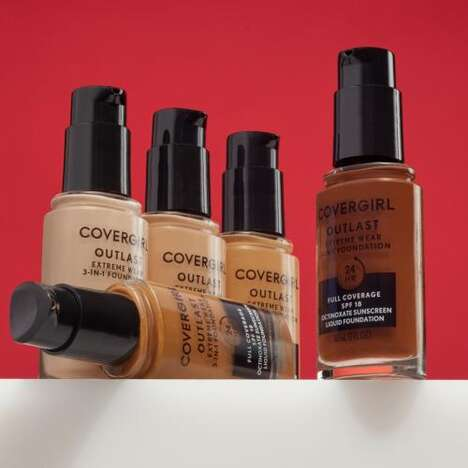 Transfer-Proof Makeup Products