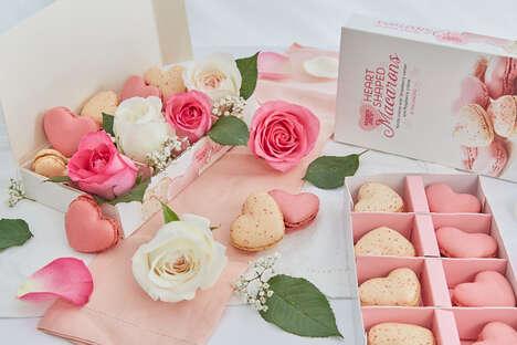 Romantic Heart-Shaped Macarons
