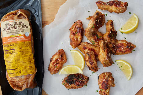 Ready-to-Cook Teriyaki Chicken Wings